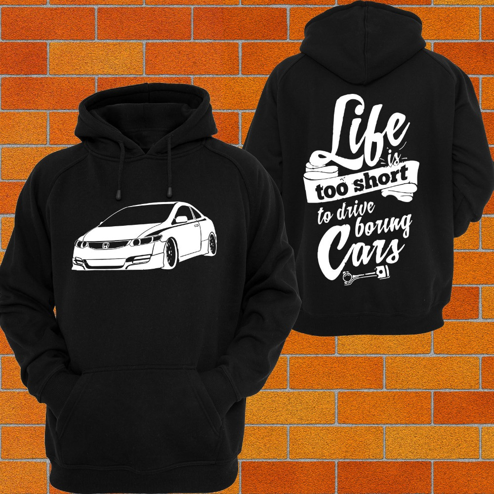 2019 mode homme Hoodies Hoodie, ou Singulet Hon CIVIC FG mugen Turbo Vtec 8th Gen JDM Type R Sweat