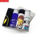 Soutong Men Underwear Boxers 4 Pcs/lot Men Underpants Cueca Boxers  Underwear Men Calzoncillos Hombre Boxers Men std01