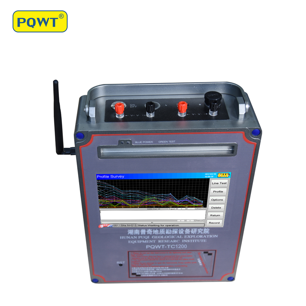 US $5311 64 7% OFF|PQWT TC1200 1500 meter Deep Water Detection Underground  Water Finder System-in Industrial Metal Detectors from Tools on