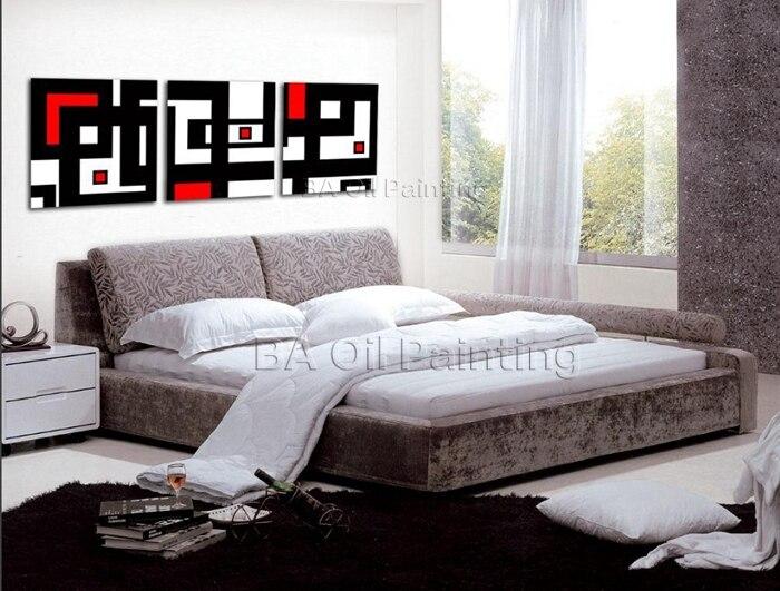 online get cheap zwart wit rood wall art aliexpress  alibaba, Meubels Ideeën