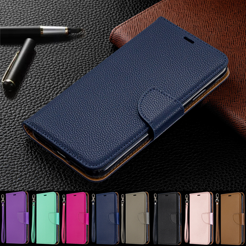 <font><b>Huawei</b></font> <font><b>P</b></font> <font><b>Smart</b></font> 2019 <font><b>Case</b></font> Leather <font><b>Flip</b></font> <font><b>Case</b></font> <font><b>P</b></font> <font><b>Smart</b></font> Plus Coque Wallet Magnetic Cover on for <font><b>Huawei</b></font> PSmart 2019 <font><b>2018</b></font> Phone <font><b>Cases</b></font> image