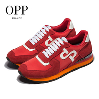 OPP 2018 Cow Leather Flats Fashion Shoes Genuine Leather Loafers For Men Shoes moccasins Men's Casual Footwear 5