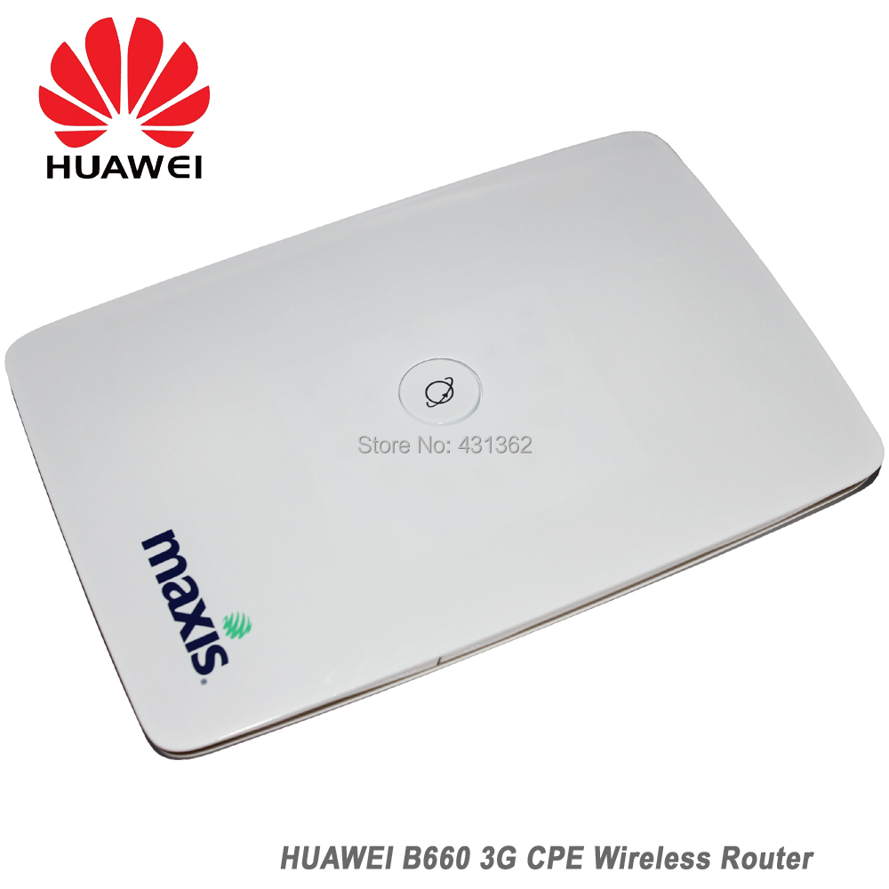 Original Unlock Huawei B660 3G Best WiFi Router 2017 With Sim Card Slot Support Voice Call image