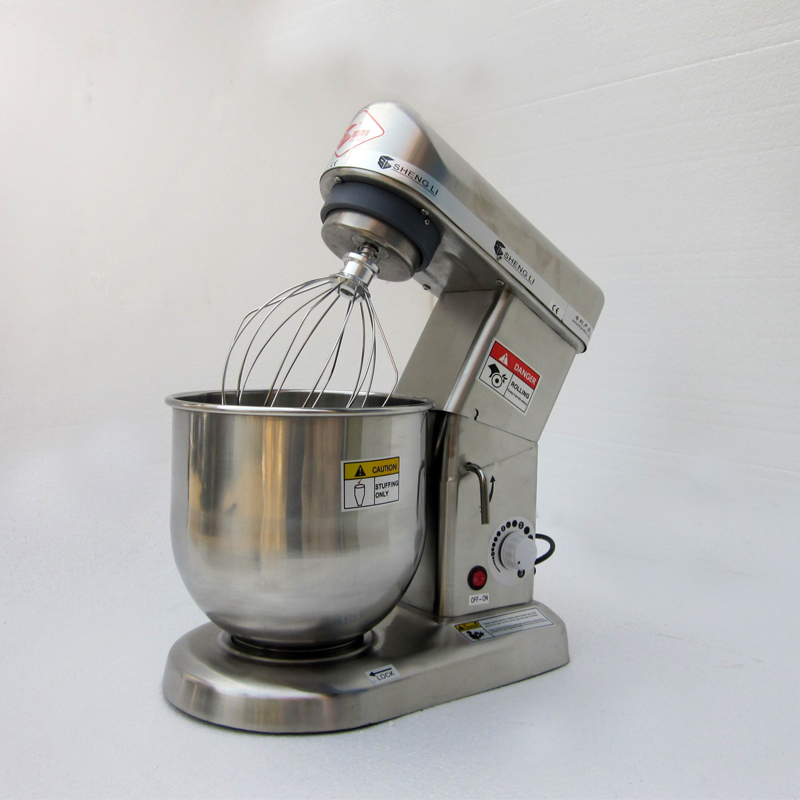 110V 220V Home Use Or Commercial Use 5/7/10L Electric Stand Food Mixer Cooking Egg Beater Dough Mixer Machine EU/AU/UK/US
