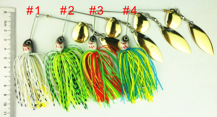 popular spinner lures-buy cheap spinner lures lots from china, Fishing Bait