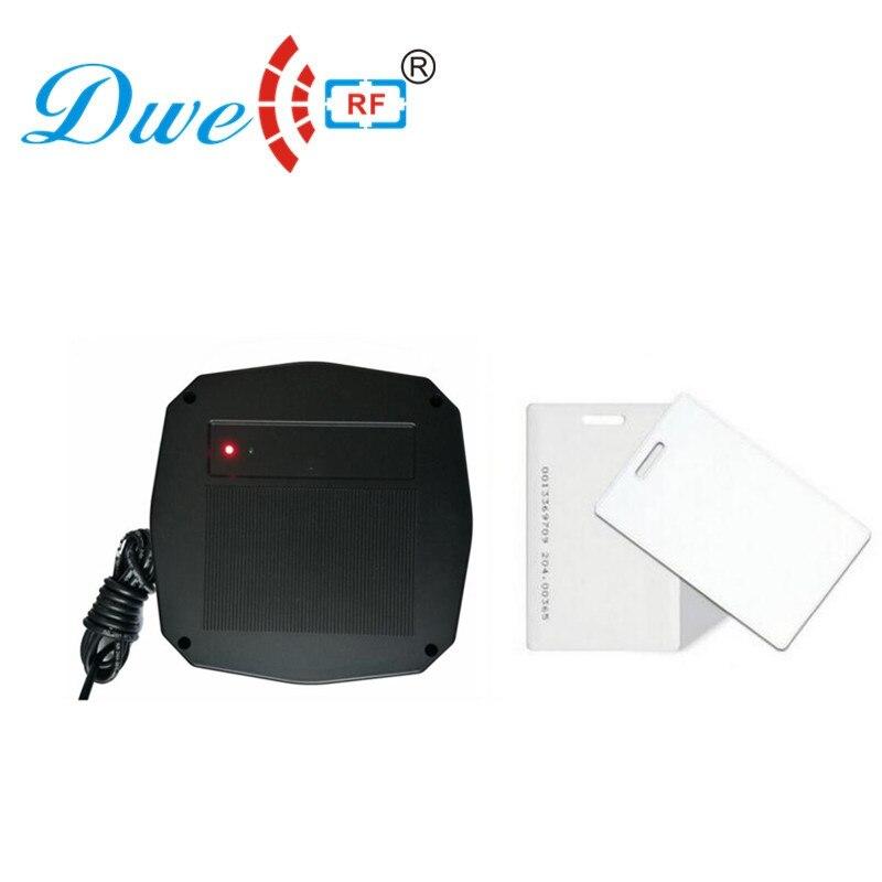DWE CC RF 1 m Longue distance 125 khz rfid carte lecteur wiegand 26 wiegand 34 rs232 rs485 pour voiture parking système