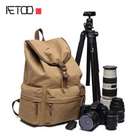 Shoulder Photography Package Casual Retro Anti Theft Fashion Travel Canvas Bag