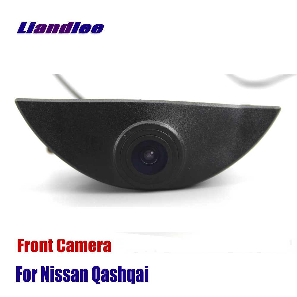 Liandlee AUTO CAM Car Front View Camera For Nissan Qashqai 2006-2018 J10 NJ10 J11 ( Not Reverse Rear Parking Camera ) цены