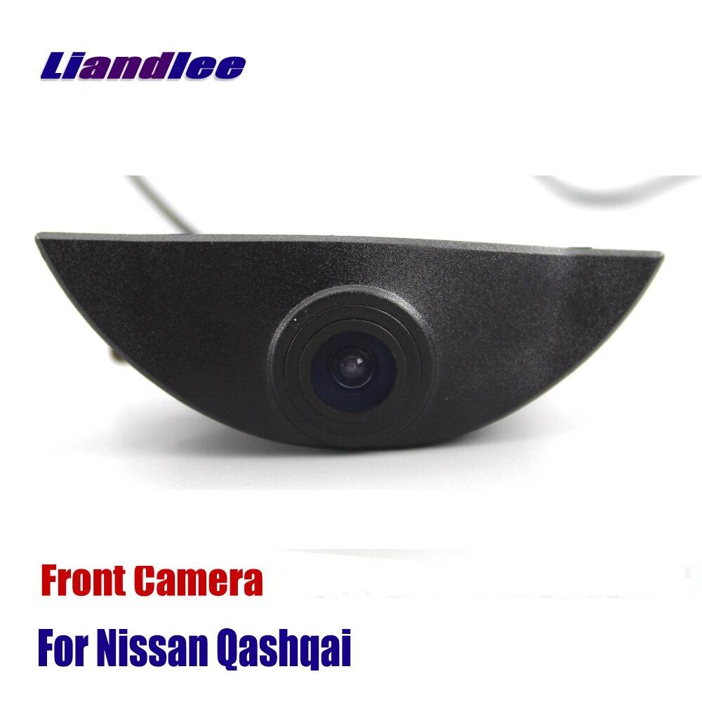 Liandlee CAM AUTO Car Vista Frontal Da Câmera Para Nissan Qashqai 2006-2018 J10 J11 NJ10 (não Reverter Câmera Traseira De Estacionamento)
