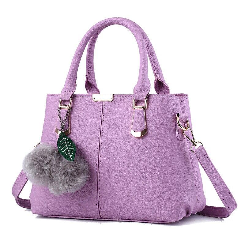 High Quality Elegant Violet Casual Fashion Women Handbag PU Multifunction Crossbody Messenger Shoulder Bag Zipper 2017 high quaitily casual fashion 024