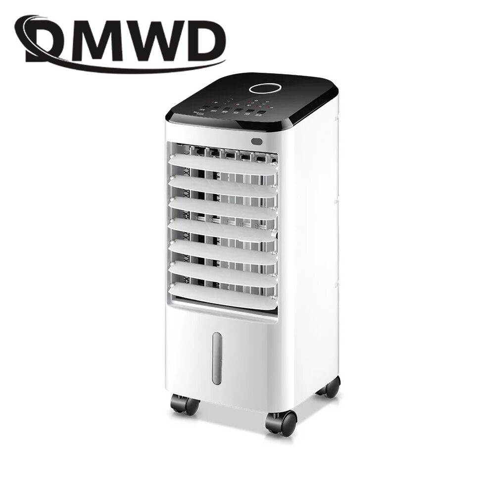DMWD Electric Conditioner fan cooling humidifier Air conditioning fans remote control timing cooler water cooled chiller EU US dmwd portable strong wind air conditioning cooler electric conditioner fan mini air cooling fans humidifier water cooled chiller