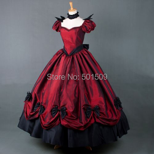 luxury bubble sleeve Medieval dress Renaissance gown royal princess queen Victoria dress Belle Ball