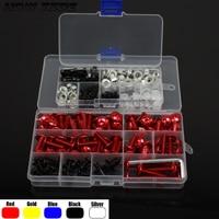 Fairing bolts & nuts fairing screws fit for SUZUKI Burgman 650 Exec 400 Abs 125 200 AN650 fairing screws one set
