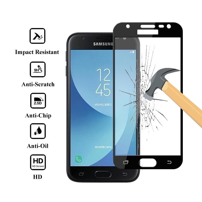 For Samsung A3 A5 A7 J3 J5 J7 2017 2016 Tempered Glass For Samsung Galaxy A3 A5 A7 A3 J3 J5 J7 2017 2016 Display screen Protector Glass