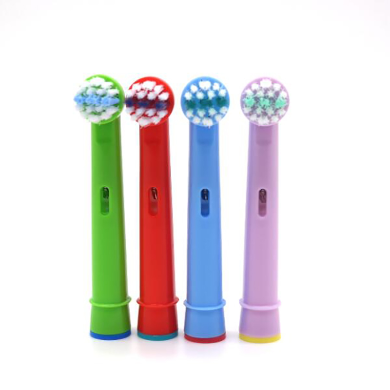4pcs Replacement Kids Children Tooth Whitening Brush Heads For Oral B EB-10A Pro-Health Stages Electric Tooth brush Oral Care image