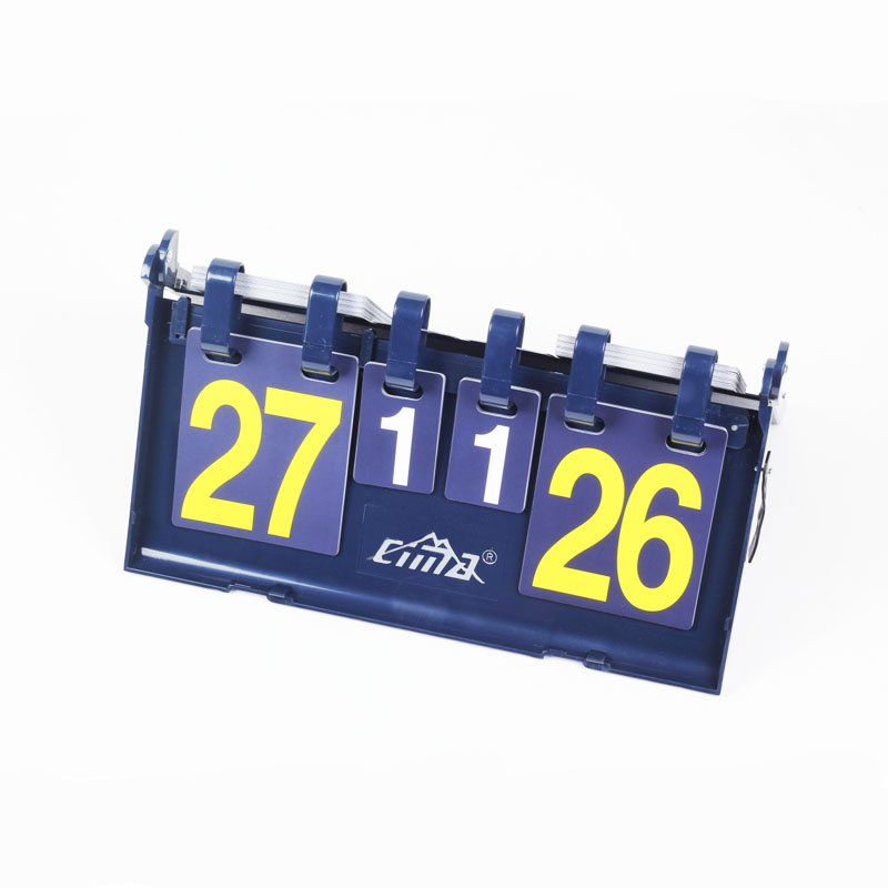 CIMA Volleyball scoreboard 4 digit Football score board Portable Basketball handball ten ...