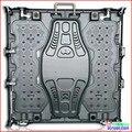 Aluguer levou armário de exposição, Alumínio de fundição, 640 mm * 640 mm, Uso interno, Projeto para p2.5, P5, P10 módulo de led