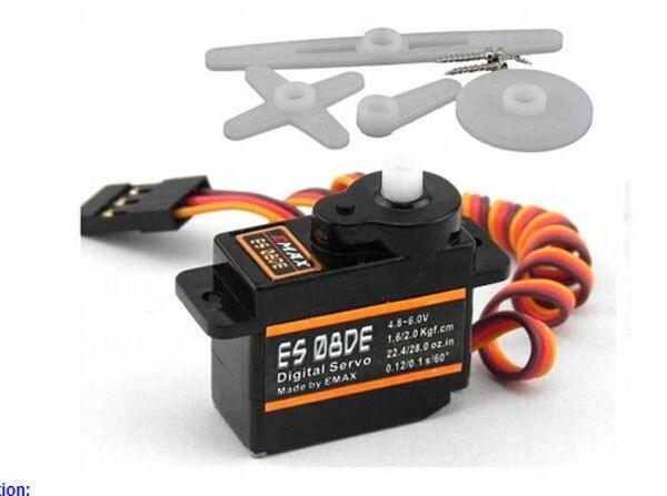 EMAX ES08DE Plastic Digital Micro Servo for Trex 250 450 Helis