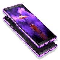 Original Brand Mobile Phone Bumper BOBYT Luxury For Samsung Galaxy Note 8 Metal Aluminum Hard Armor Bumper Phone Cases JS0543