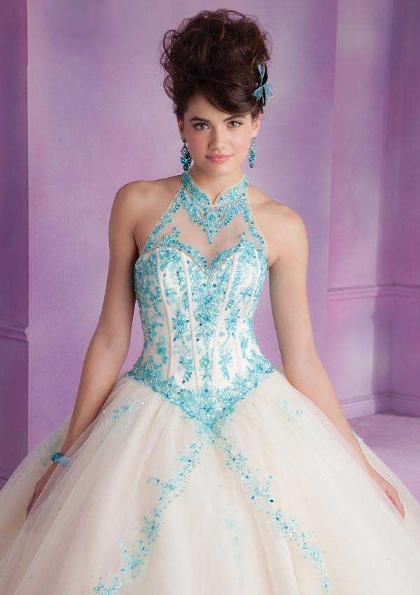 Debut Ball Gowns Quinceanera Dress for 15 Years Tulle Appliques ...