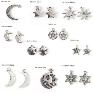 Beadia Vintage Silver Charms for DIY Bracelet Style Pendant
