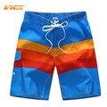 VICVIK Marca Para Hombre Pantalones Cortos de Secado Rápido Ropa de Rayas Ropa de Estilo Americano estilo Hombre Tabla Corta