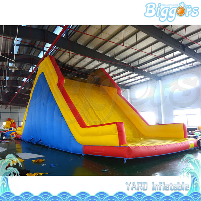 Waterproof Outdoor Inflatable Slide Amusement Game Bounce House For Sale commercial sea inflatable blue water slide with pool and arch for kids