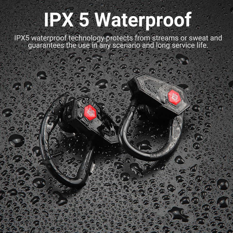 Langsdom bezprzewodowe douszne słuchawki sportowe dla słuchawka Bluetooth słuchawki z redukcją szumów zestaw słuchawkowy HiFi słuchawki stereo dla Xiaomi