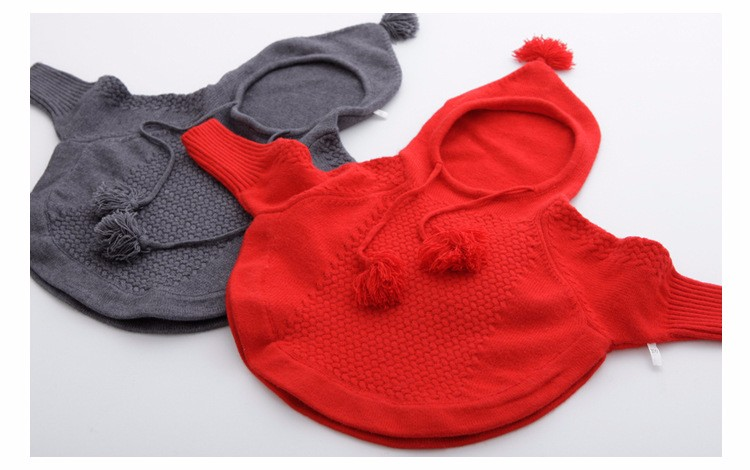 child hooded knitted sweaters 1