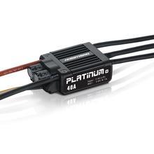 1 шт. Hobbywing Platinum 40A V4 бесщеточный электронный регулятор скорости ESC для радиоуправляемого дрона Heli FPV мульти-ротор