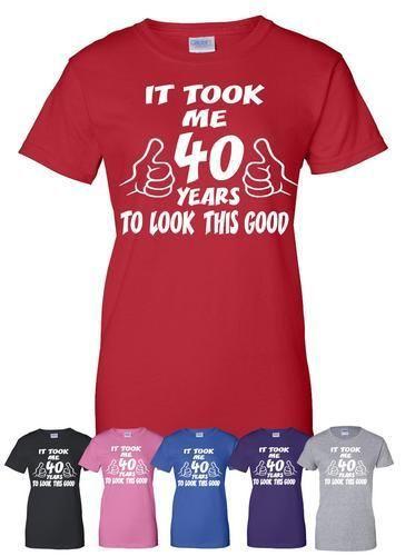 t shirt 40 jaar Het Duurde 40 Jaar Te Kijken Deze Goede 40th Grappige  t shirt 40 jaar