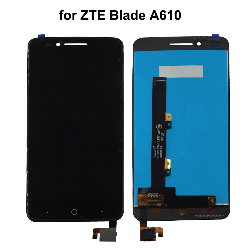 For ZTE Blade A610 LCD Display Touch Screen  For ZTE Voyage 4 Blade A610 lcd Screen  With Free Tools