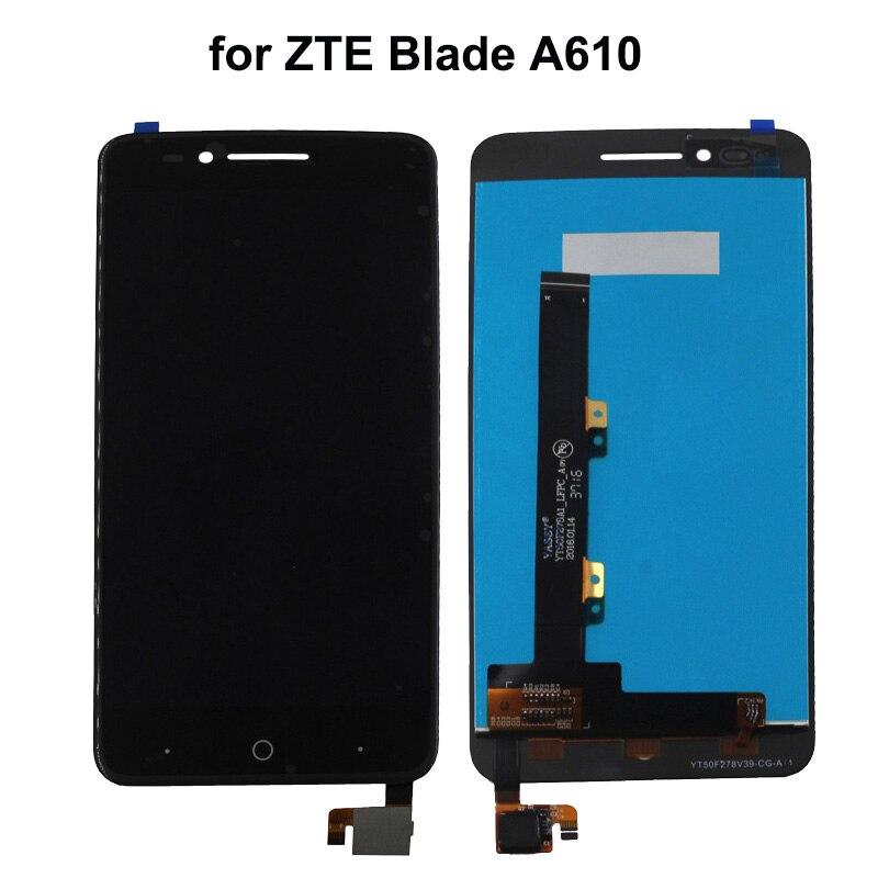 Per ZTE Blade A610 Display LCD Dello Schermo di Tocco Per ZTE Voyage 4 Lama A610 Schermo lcd Con Strumenti Gratuiti