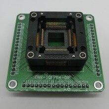 OTQ-64-0.8-01 QFP64 для TQFP64 DIP32 HC05 HC08 QFP64 Программирование адаптер
