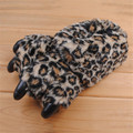 Зима Новый Paw Тапочки Смешные Тапочки Для Мужчин Женщины Косплей Коготь Мягкие Плюшевые Домой Этаж Обувь Pantufas