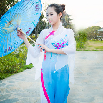 2018 New Chinese Ancient Clothing Costume Women's Classical Dance Clothes Stage Clothes Dance Clothes