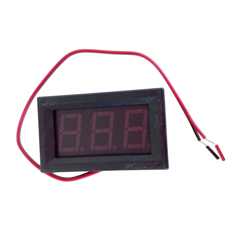 1pcs 2.5-30V (OR 4.5-30V ) DC mini Car Motor Red LED Digital Voltmeter Volt Voltage Panel Meter Hot sale