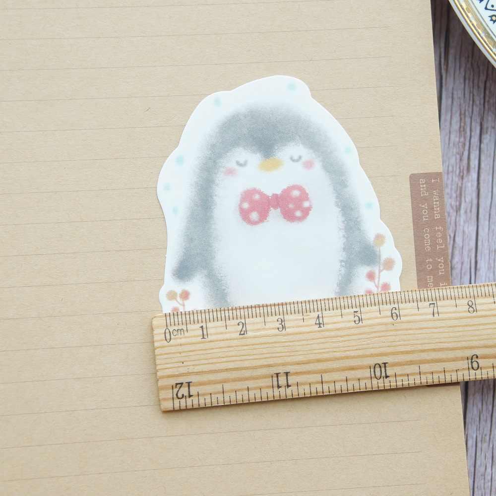 30 шт DIY Пингвин зимой не просыпается дизайн бумаги как оригинальное творчество бумага фон Скрапбукинг планировщик использование может написать