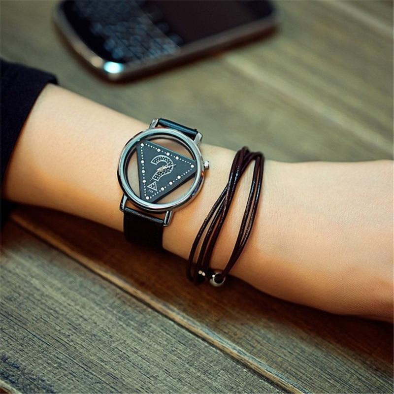 Σκελετό Τρίγωνο ρολόι Γυναίκες Μόδα - Γυναικεία ρολόγια - Φωτογραφία 6