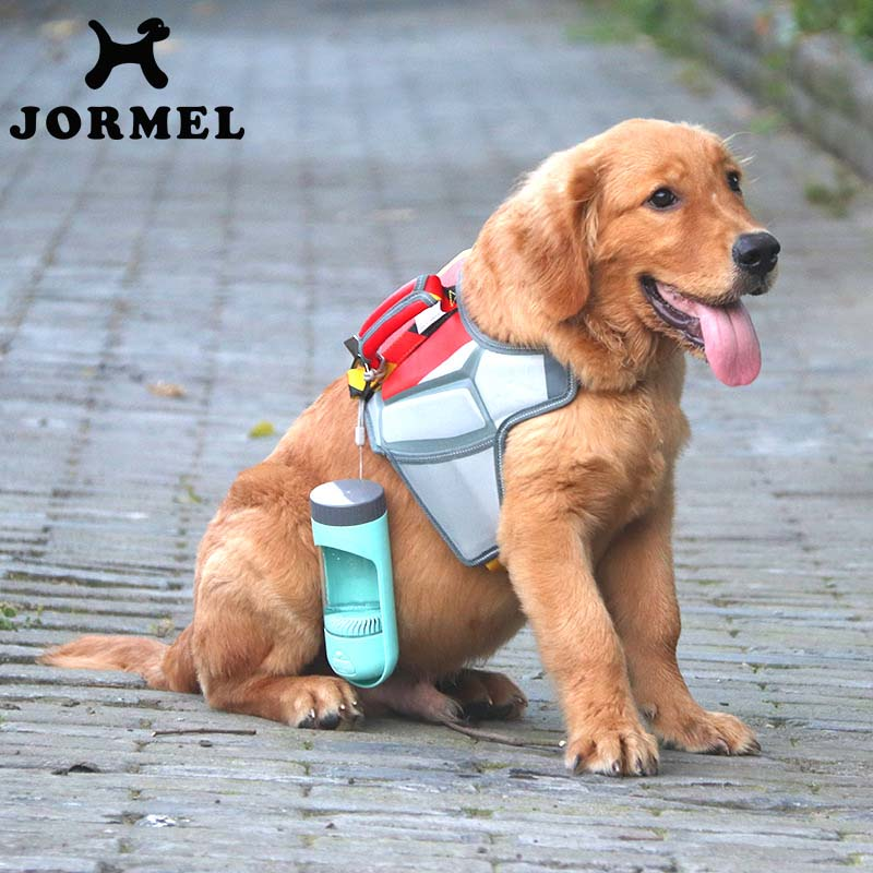 Portable Dog Cat Portable Carbon Filter Water Bottle: JORMEL Dog Portable Water Bottle Pet Activated Carbon