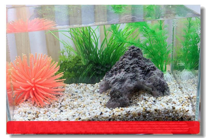 fish tank resin cave for fish shrimp aquarium decoration ornament 11*11*11cm turtle tank rockery