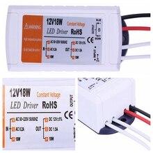 Трансформаторы лампочка потолок ac/dc драйвер прокладки сид rgb переключатель питания адаптер