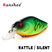 Banshee Snoop VIBS Shallow Diving Crankbaits 68mm 15g Topwater Dying Rattle Sound Wobbler Artificial Hard Bait Walleye 6 Colors