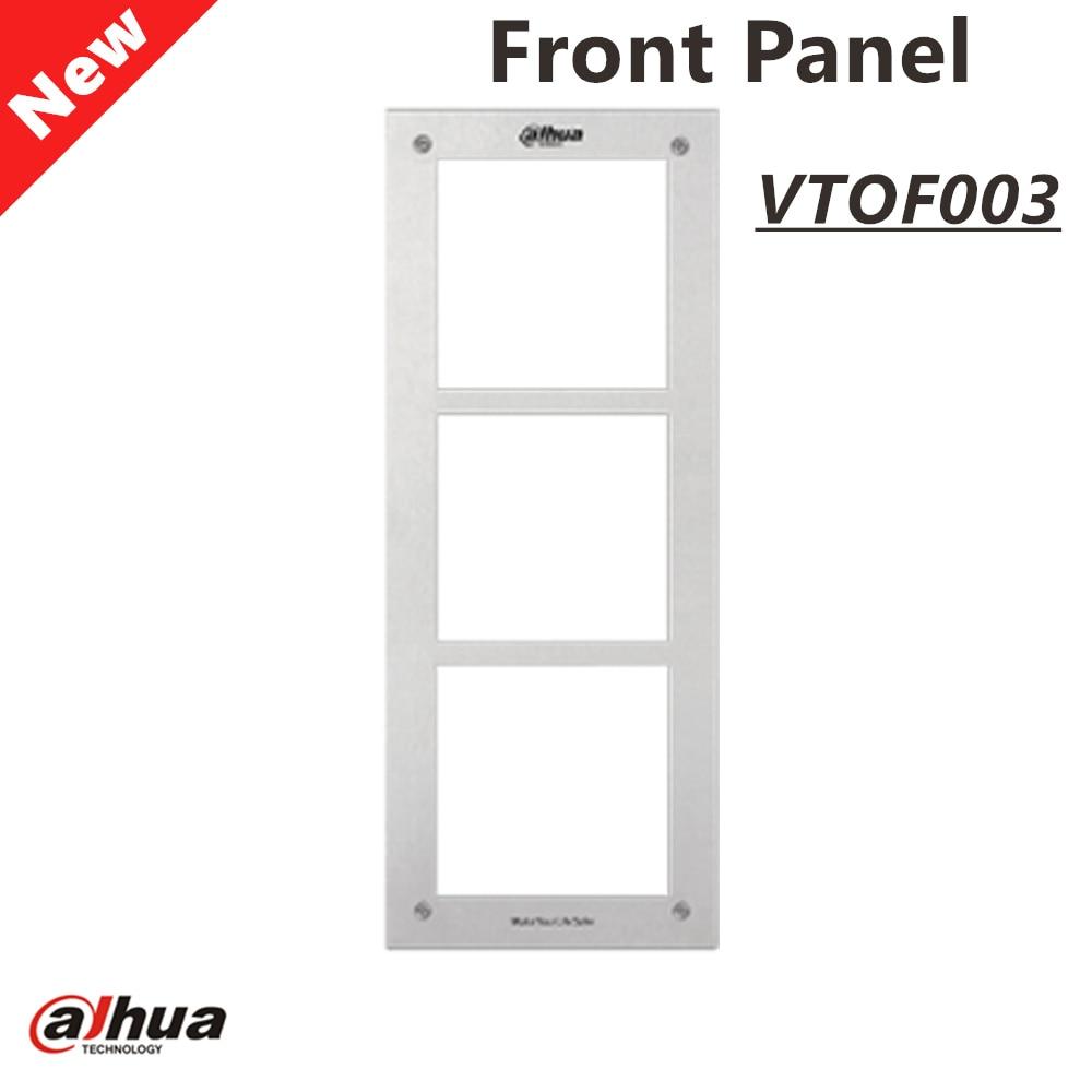 Dahua VTOF003 Front Panel for 3 Modules Intercom Accessory
