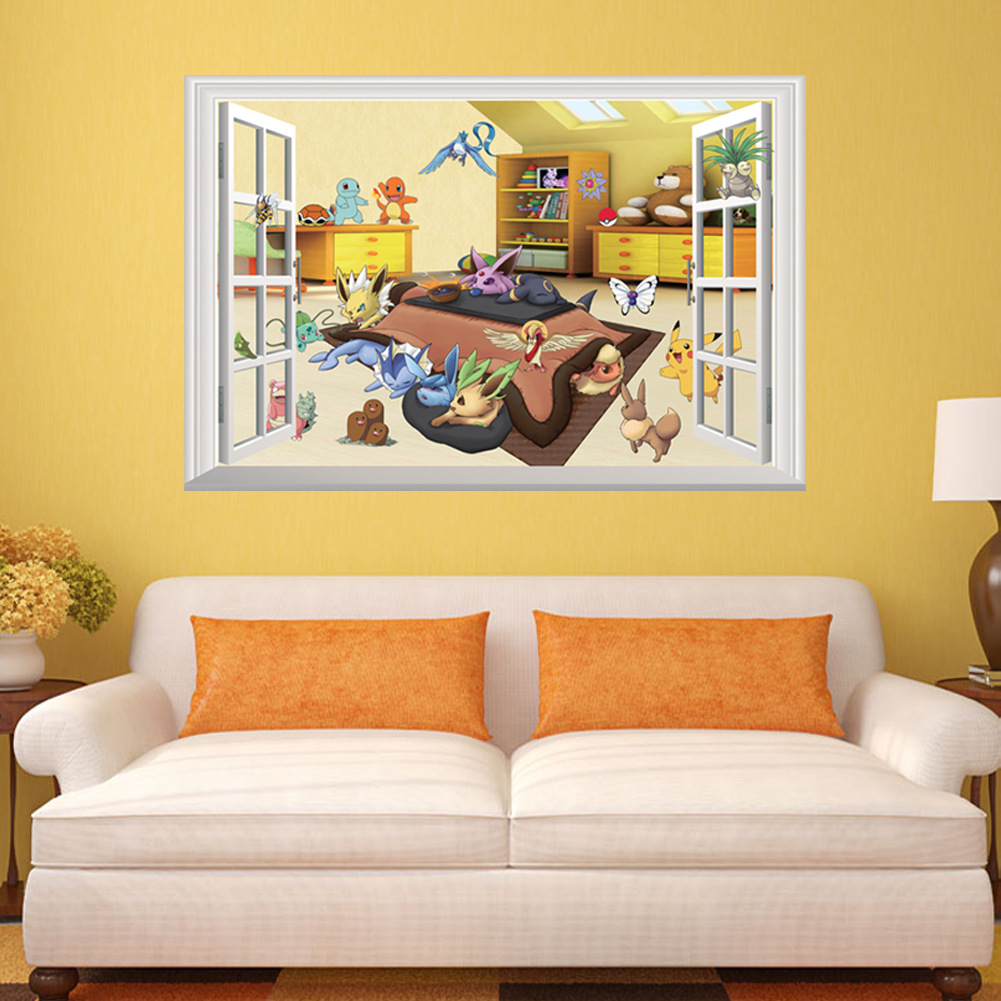 Enchanting Pokemon Wall Decor Picture Collection - Wall Art ...