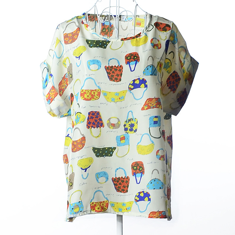 Ocean Decor Original Printed Short Sleeve Shirt Size XS-2XL Big,Dramatic Seascap