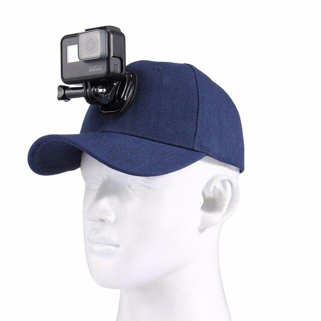 Visualizzza di più. Gopro accessori tela regolabile berretto cappello da sole  per hero 5 4 3 sjcam sj7 sj6 3cb490d12e10