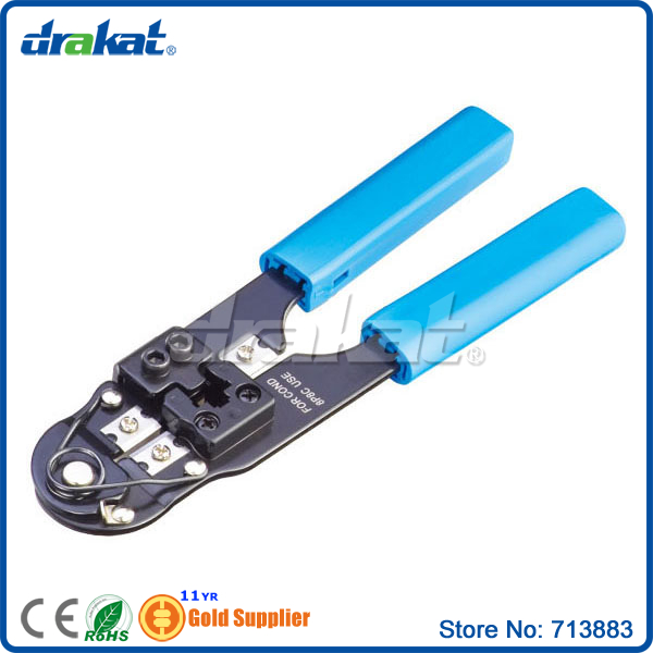 RJ45 8 pin Network Cable Crimp Tool with short blade