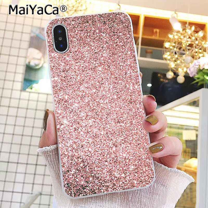 MaiYaCa Love Heart Gold Rose Marble Stripes Case For iphone 11 Pro 11Pro MAX 8 7 6 6S Plus 5 5S SE XR X XS MAX 10 Coque Shell