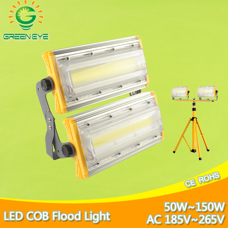LED Flood Light 50W 100W 150W AC 185-265V Waterproof IP65 Spotlight Outdoor Wall Lamp garden Lamp lighting